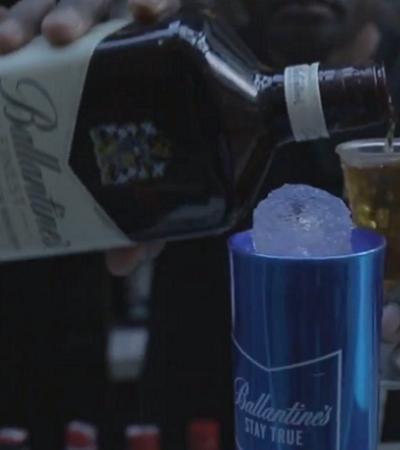 Ballantine's prova que whisky é clássico mas também é tendência