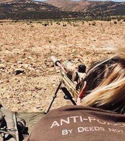 Veterinária do exército se arma e vai para a savana defender animais selvagens