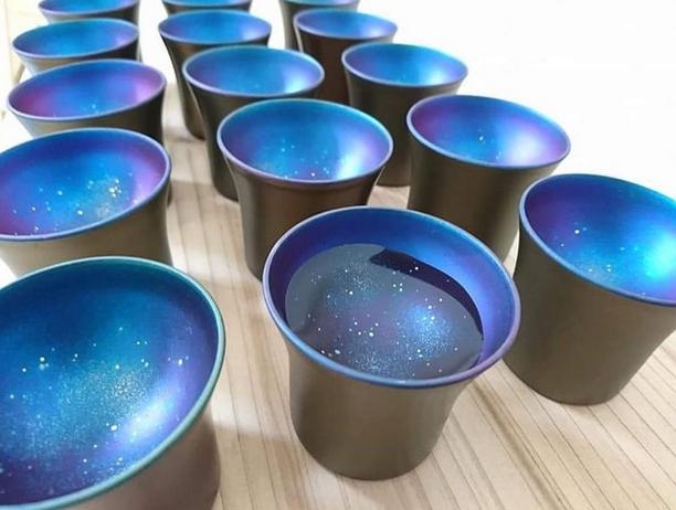 copos de galáxia 8