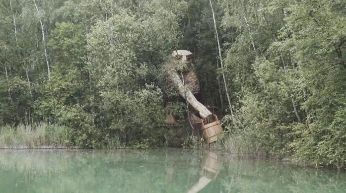 esculturas gigante madeira Bélgica 12