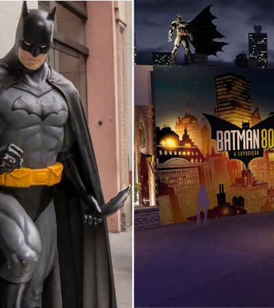 Exposição imersiva do Batman com mais de 500 itens originais chega em São Paulo