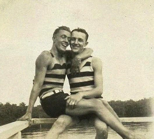 fotos antigas gays 1