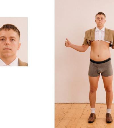 Sessão de fotos de passaporte revela bastidores hilários sem zoom