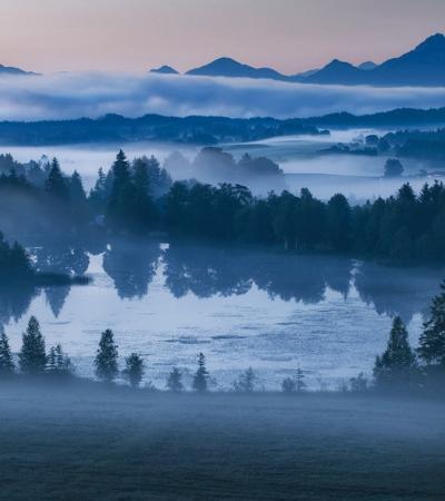 Fotos tiradas no 'lusco-fusco' captam a beleza da transição entre o dia e a noite