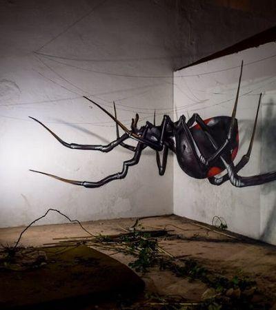 Artista urbano português cria ilusões de ótica que vão bugar sua cabeça