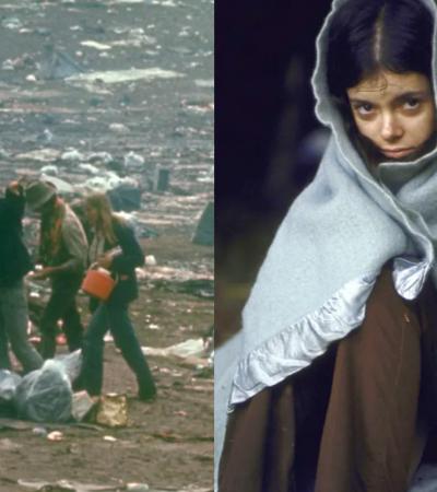 Fotos mostram os perrengues reais por trás das fotos clássicas de Woodstock