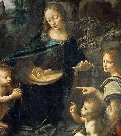 Esboços secretos são descobertos em obra de Da Vinci 500 anos após sua morte
