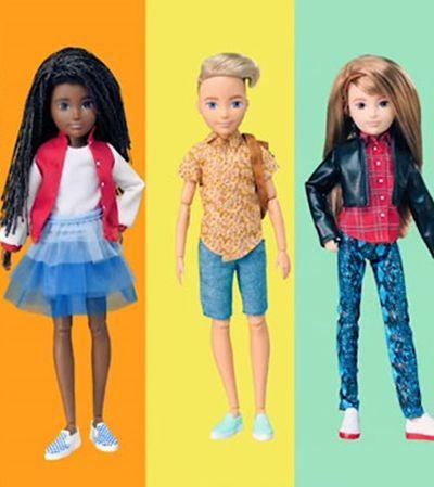 Mattel lança bonecas sem gênero e com estilo personalizável