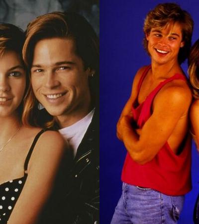 20 fotos de Brad Pitt novinho com sua então namorada Shalane McCall nos anos 1980