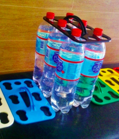Empreendedores brasileiros criam transporte sustentável para garrafas