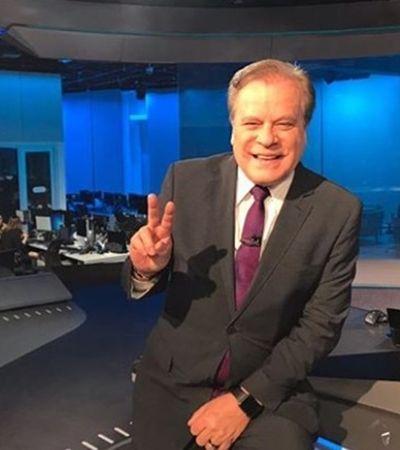 Âncora mais antigo da Globo, Chico Pinheiro pode ser substituído, diz site