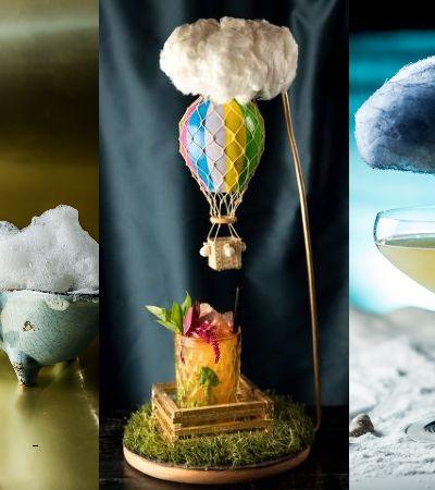 Bar Caulí usa tintas e alquimias para fazer os drinks mais divertidos já vistos