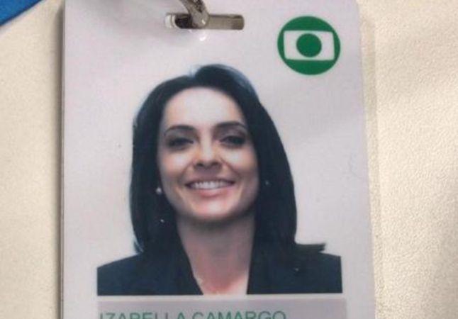 Izabella Camargo pede licença da Globo 20 dias após retorno