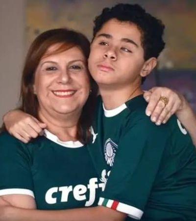 Mãe narra jogos do Palmeiras pra filho deficiente visual. E depende do seu voto para vencer prêmio Fifa
