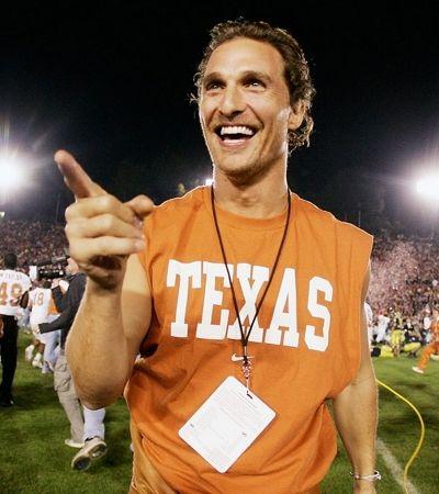 Matthew McConaughey se torna professor na universidade em que se formou no Texas