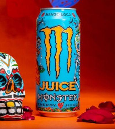 Novo energético com suco tem design inspirado na cultura mexicana