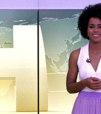 Estreia de Maju no 'Jornal Hoje' faz lembrar outras mulheres negras de sucesso