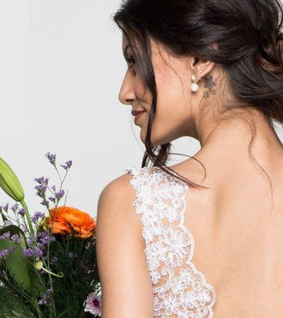 Loja virtual inova e oferece vestidos de noiva a partir de R$ 350