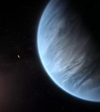 Hubble encontra planeta com água em estado líquido