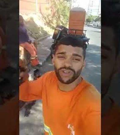 Após apelo no WhatsApp, gari que teve moto roubada ganha outra zerada