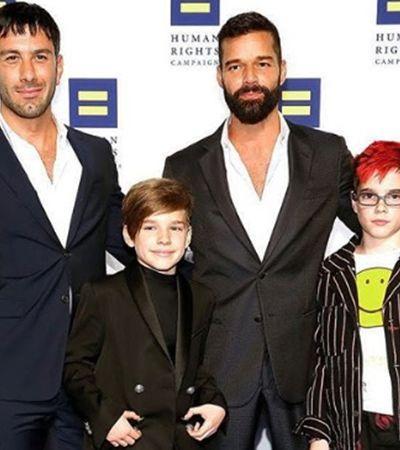 Ricky Martin e marido esperam por 4º filho; veja outras famílias de pais LGBT que estão crescendo
