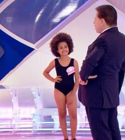 Silvio Santos promove concurso com crianças de maiô e gera debate sobre sexualização infantil