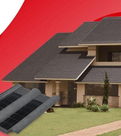 Eternit lança primeira linha de telhas que produzem energia solar