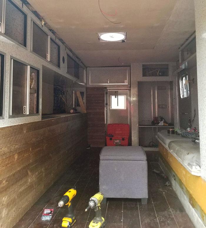 ambulância abandonada casa dos sonhos 8