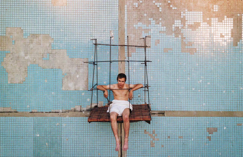 artista russo se equilibra 5