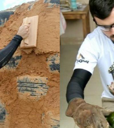 Brasileiro é finalista em prêmio global de bioconstrução