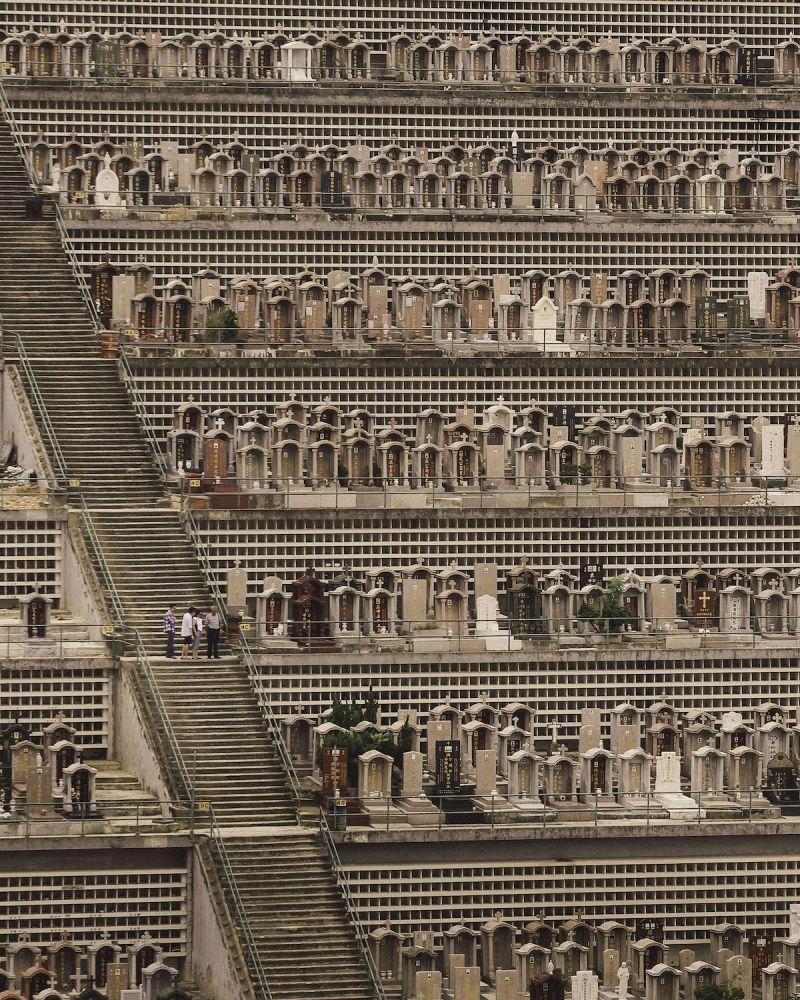 cemitérios verticais hong kong 11
