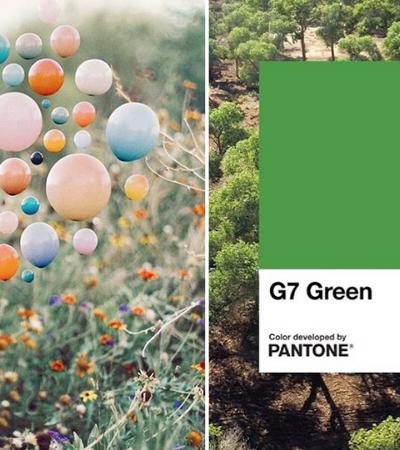 Pantone prevê azul e verde como as cores de 2020 pois representam a natureza