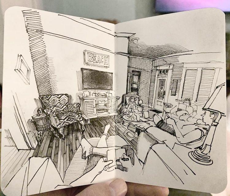 desenhos em perspectiva paul heaston 15