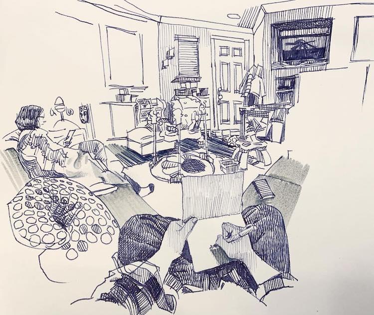 desenhos em perspectiva paul heaston 5