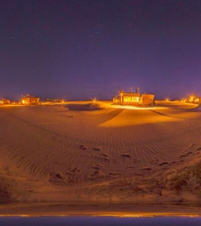 Os quartos deste hotel na Namíbia são réplicas de naufrágios