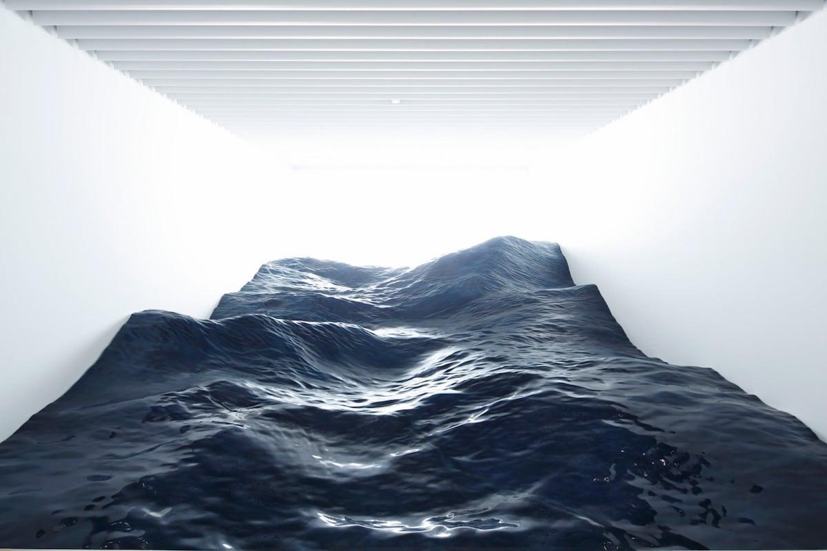 instalação ondas do mar 1