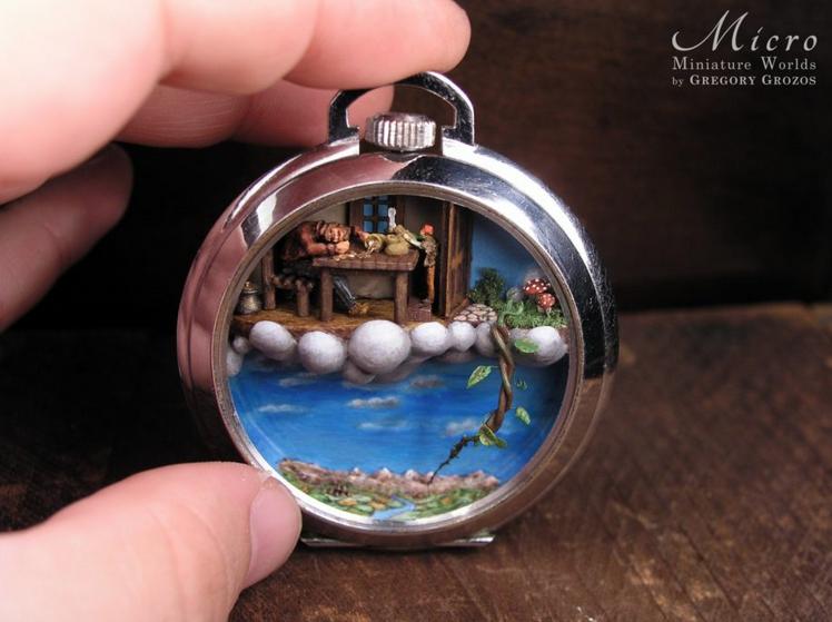 mundos miniatura joias antigas 11