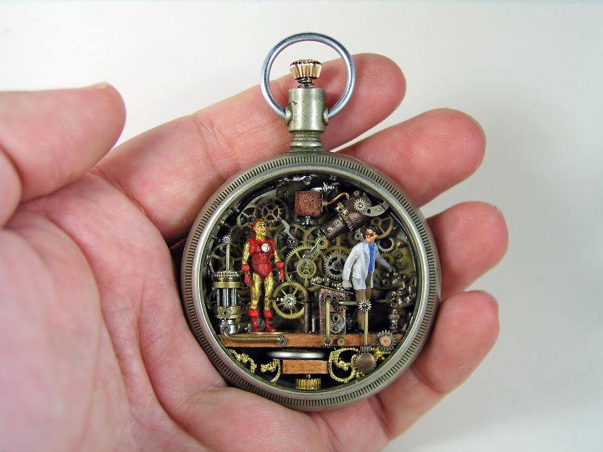 mundos miniatura joias antigas 2