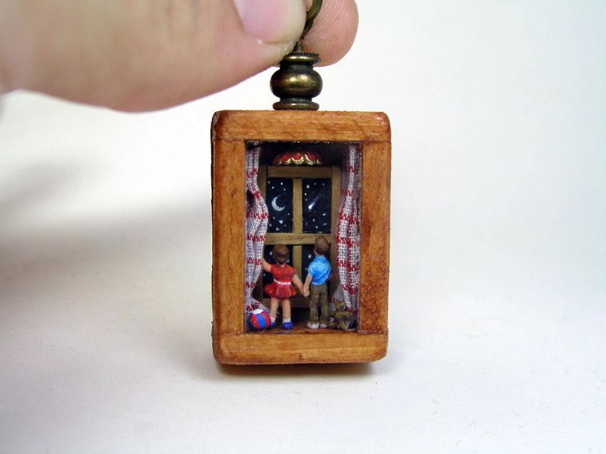 mundos miniatura joias antigas 7