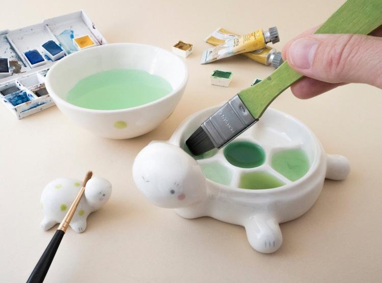 paletas de tinta cerâmica 4