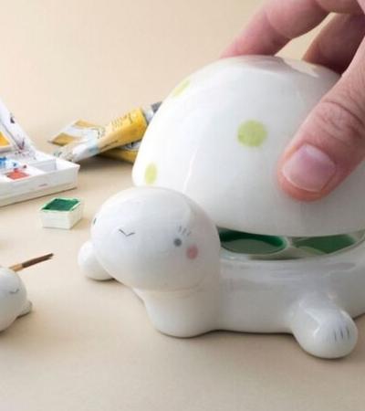 As incríveis paletas de tinta de cerâmica para deixar sua arte mais lúdica