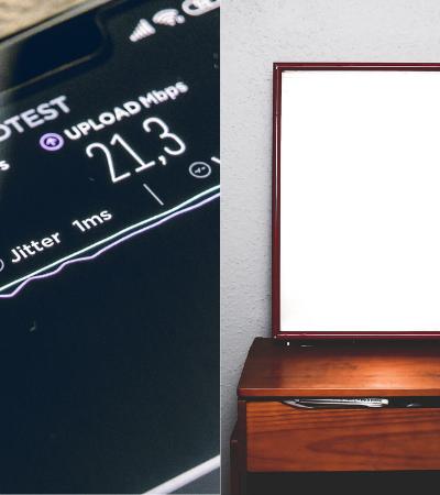Por que os espelhos podem prejudicar a qualidade do seu wi-fi