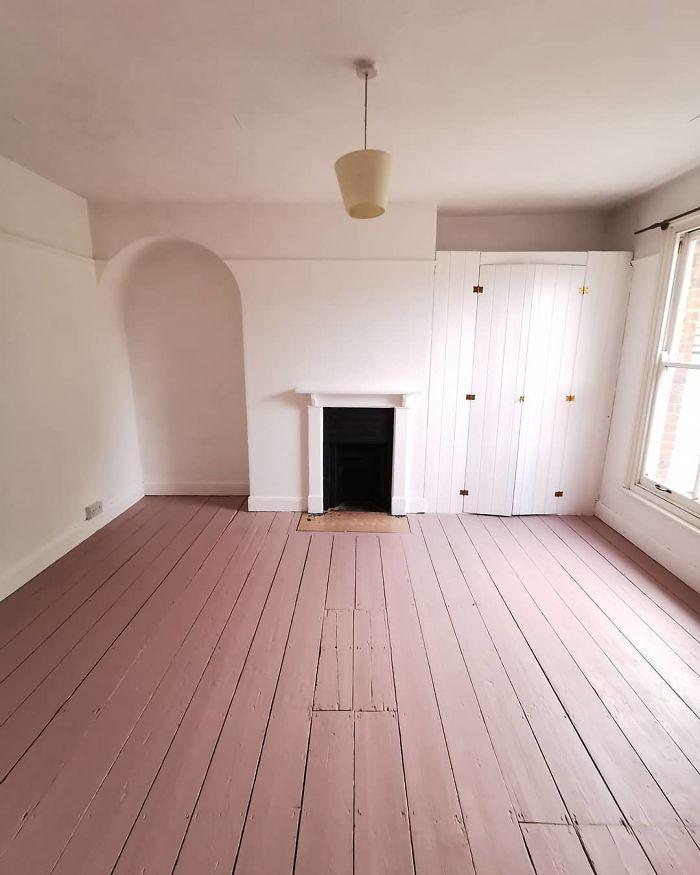 quarto de hóspedes pintado 1