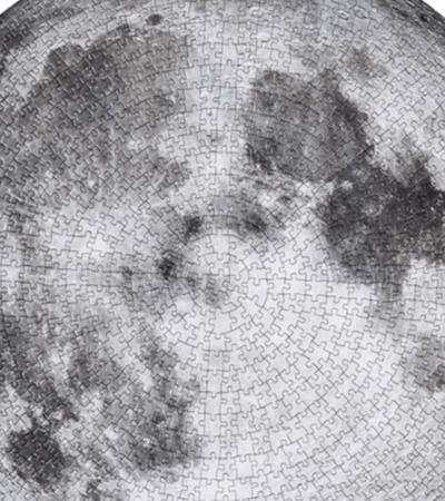 Este incrível quebra-cabeça da Lua te desafia a reconstruir uma fotografia da NASA