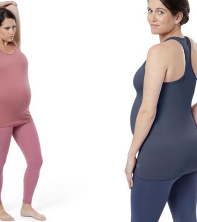 Reebok cria roupas para gestantes que crescem junto com suas barrigas