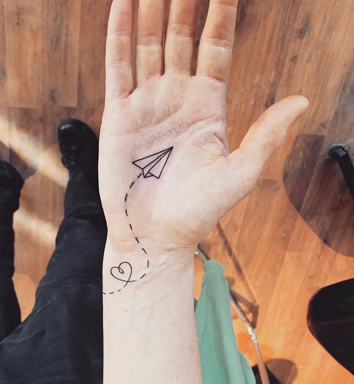 tattoo palma da mão 1