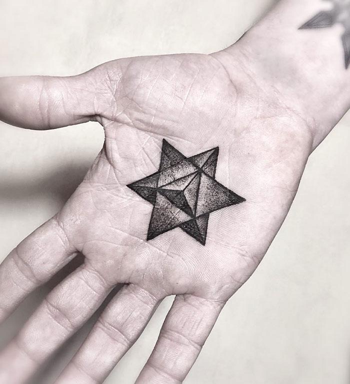 tattoo palma da mão 15