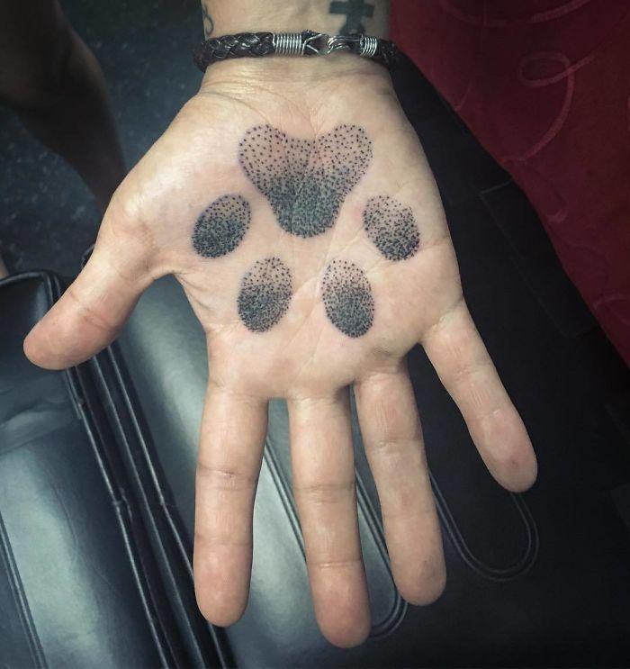 tattoo palma da mão 2