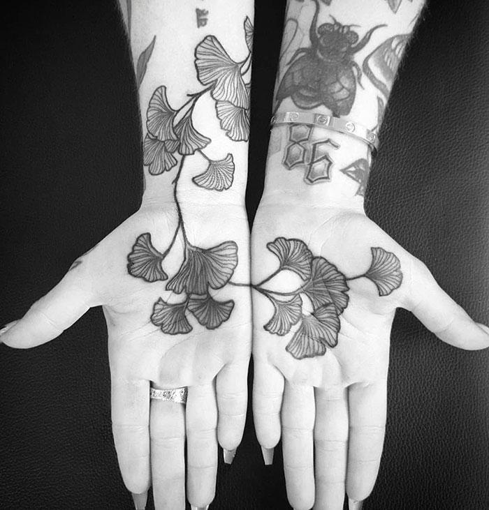 tattoo palma da mão 4