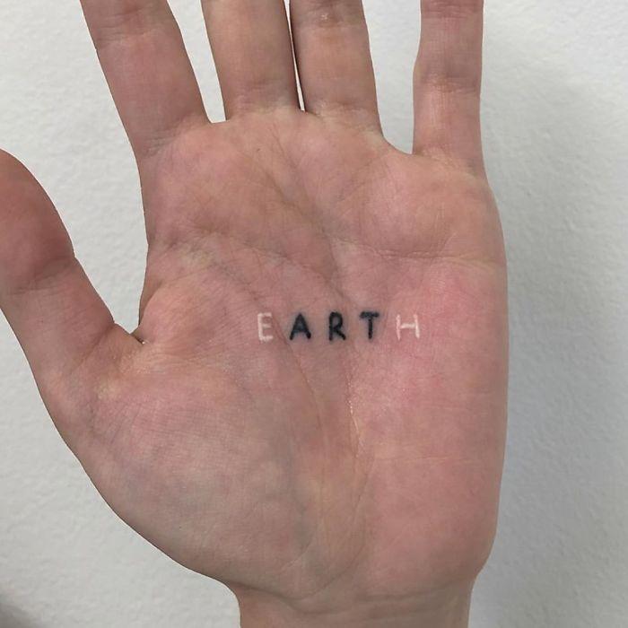 tattoo palma da mão 7